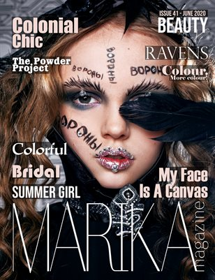 MARIKA MAGAZINE BEAUTY ( June - issue 41)