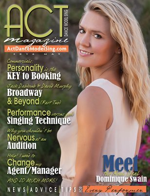 ACT Dance Model Sing Magazine Issue 23