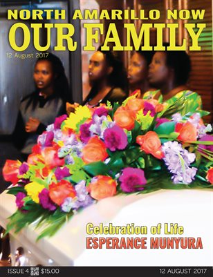 Our Family Issue 4 - Celebration of Life Esperance Munyura