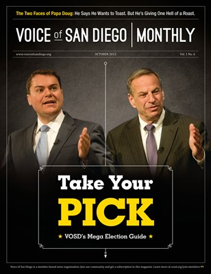 Voice of San Diego Monthly | October 2012