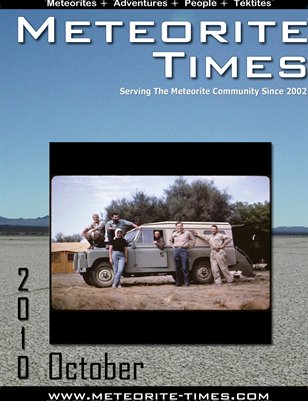 Meteorite Times Magazine - October 2010