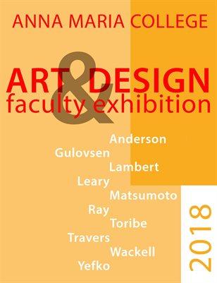 Art & Design Faculty Exhibition, 2018
