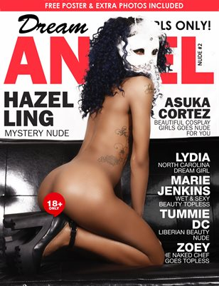 Dream Angel Nude Magazine #2 Hazel Ling Limited Edition