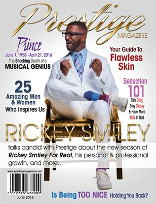 June 2016 Issue ft Rickey Smiley