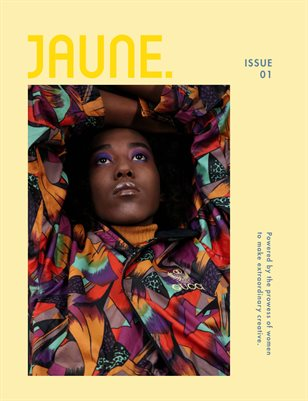 Jaune Magazine Issue 01 \ Cover 7
