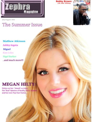 ZEPHRA MAGAZINE: Issue #2 (Megan Hilty)