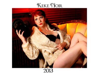 Keke Noir 2013 Calendar