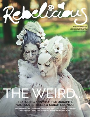 Rebelicious Issue #30 Cover 1 - The Weird...
