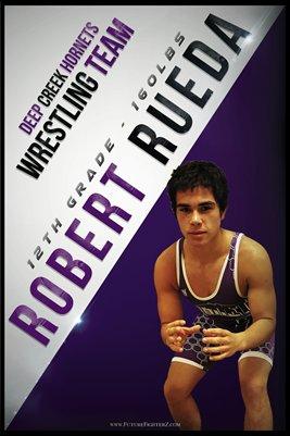 Robert Rueda DC #1 Poster