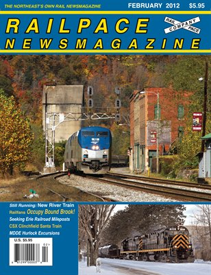 FEBRUARY 2012 RAILPACE NEWSMAGAZINE