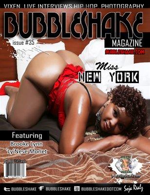 BUBBLE SHAKE MAGAZINE #35 (Miss New York)