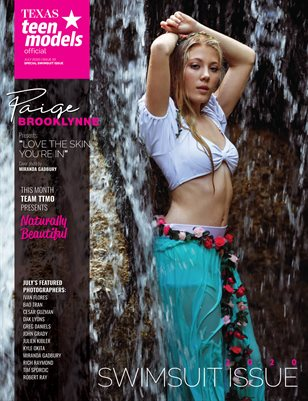 Texas Teen Models Official Magazine - July 2020 - Vol. 33