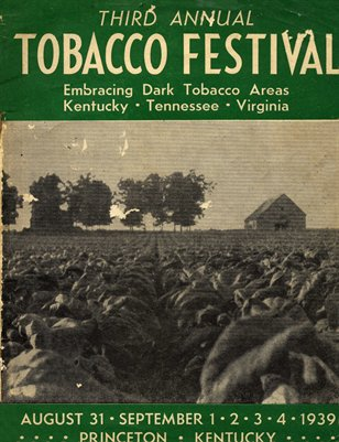 1939 Third Annual Tobacco Festival, Princeton, Kentucky
