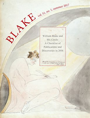 Blake/An Illustrated Quarterly vol. 51, no. 1 (summer 2017)