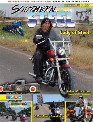 Southern Steel Motorcycle & Car Magazine December 2014