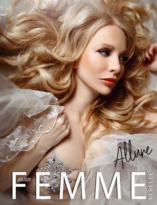 Femme Rebelle Magazine JANUARY 2020 - ALLURE ISSUE - MyBoudoir Cover