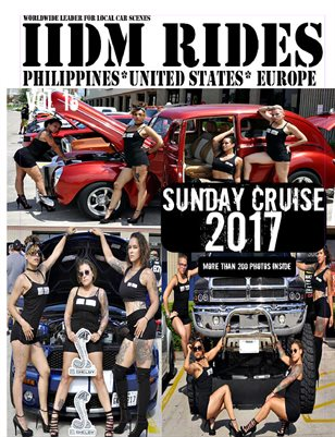 "IIDM RIDES Magazine Vol 16 ""SUNDAY CRUISE 2017"""