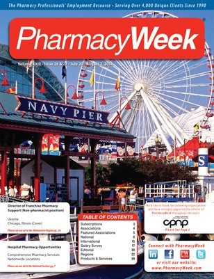 Pharmacy Week, Volume XXIII - Issue 26 & 27 - July 20 - August 2, 2014