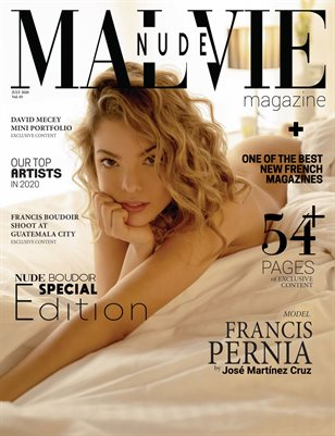 MALVIE Mag - Nude & Boudoir Special Edition Vol. 03 JULY 2020