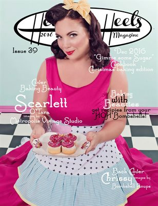 Hell on Heels Magazine December 2016 Issue 39 Gimme some Sugar Baking Recipe book