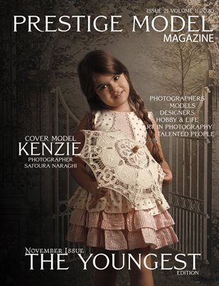 PRESTIGE MODELS MAGAZINE_The Youngest 21/11