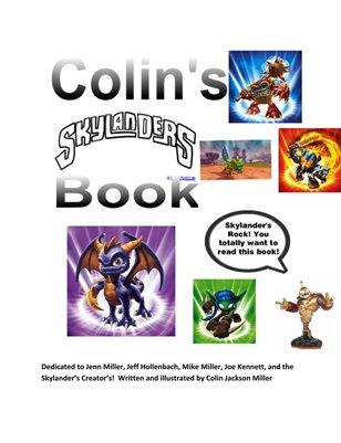 Colin's Skylander Book