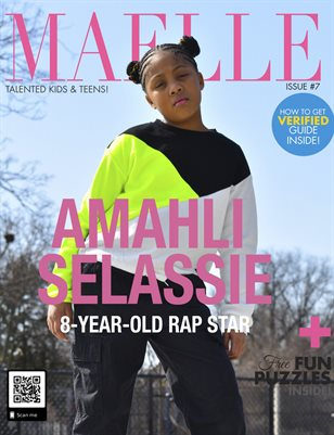 Maelle Kids Magazine Issue #7 | Amahli Selassie