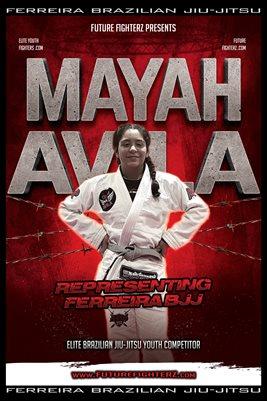 Mayah Avila Barb Wire Poster