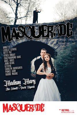 Masquerade No.4 – Madison Mary, Alex Schmitt, David Wysocki Cover Poster