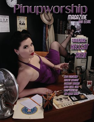 November Issue Hellcat Suzie Cover
