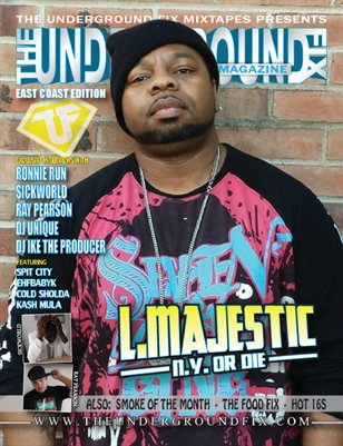 The Underground Fix Magazine 'East Coast Edition'