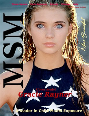 Model Source magazine Most Beautiful Issue 5 Volume 10 2018