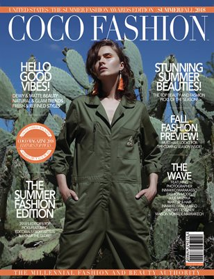 COCO Fashion Magazine - October 2018 Vol.6
