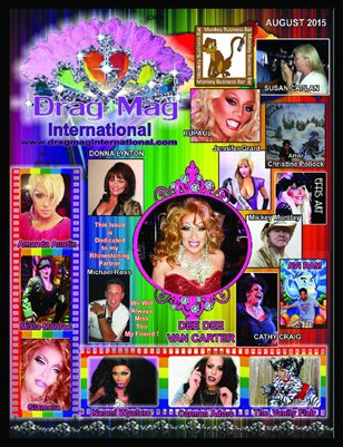 August Issue Drag Mag International
