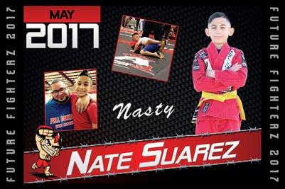 Nathan Suarez Cal Poster 2017