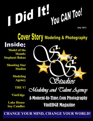I Did It Magazine July 2013 Shooting Star Studios St. Charles, IL