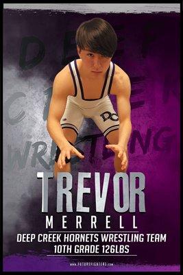 Trevor Merrell DC #2 Poster