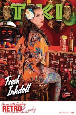 TIKI Volume 5 - Fresh Inkdoll Cover Poster