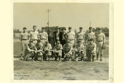 Mayfield Clothiers Baseball Team, Graves County, Kentucky