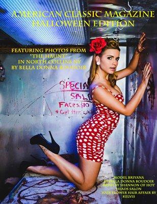 American Classic Magazine Halloween Edition