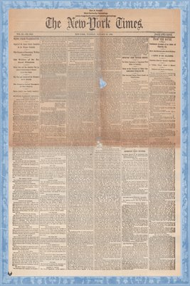 (PAGES 1-2) The New-York Times, Jan. 28, 1862