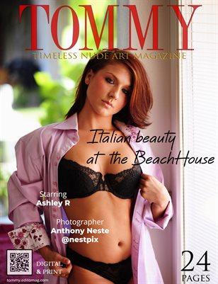 Ashley R - Italian beauty at the BeachHouse - Anthony Neste