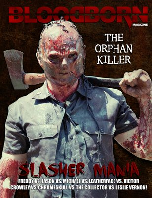 Blood Born Magazine - Slasher Mania
