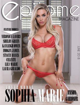 JUNE 2018: Cover Model Sophia Marie