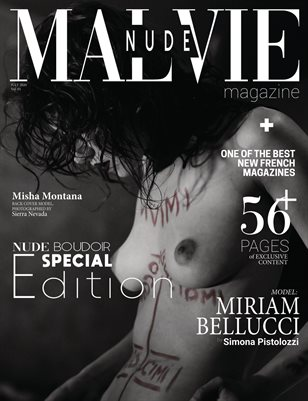 MALVIE Mag - Nude & Boudoir Special Edition Vol. 01 JULY 2020