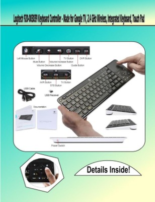 New PubliLogitech 920-003039 Keyboard Controllercation
