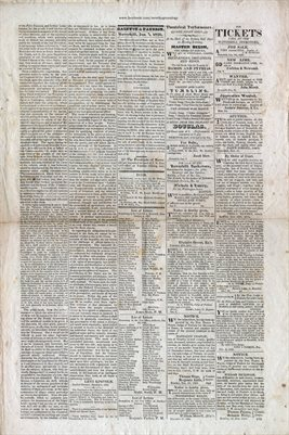 PAGES 3-4, JAN. 7TH, 1826,HAVERHILL-GAZETTE, MASS