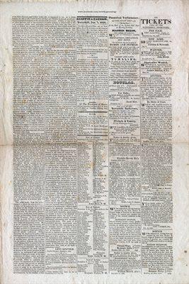 PAGES 3-4, JAN. 7TH, 1826,HAVERHILL-GAZETTE, MASS