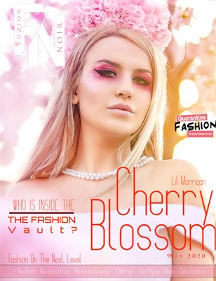 Fuzion Noir Lil Morrigan Spring Fashion May 2020 Issue 2 Cover 2