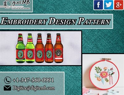 Embroidery Design Pattern